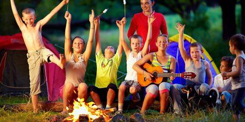 Vijf activiteiten rond het kampvuur