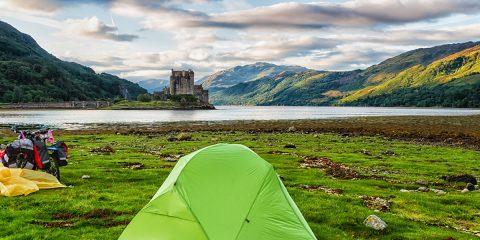 Schotland: waar avonturiers kamperen