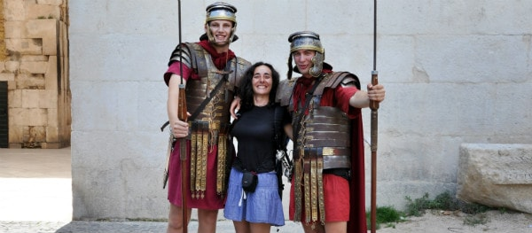 Straatartiesten Rome
