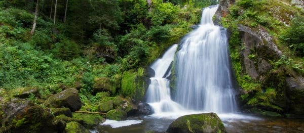 Kamperen bij de Triberger Wasserfalle