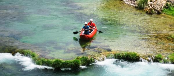 Kanovaren in Kroatië