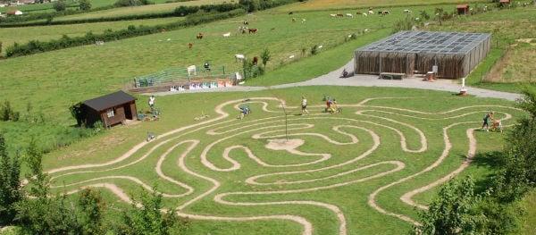 Spelen in de natuur in Diverti'Parc