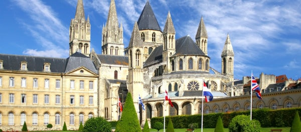 Caen has restored many historic buildings and has grown into a modern metropolis
