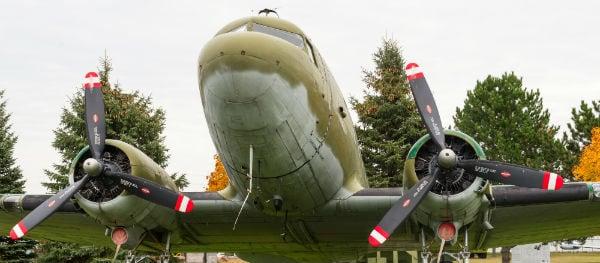 Een oude Dakota C-47/DC3