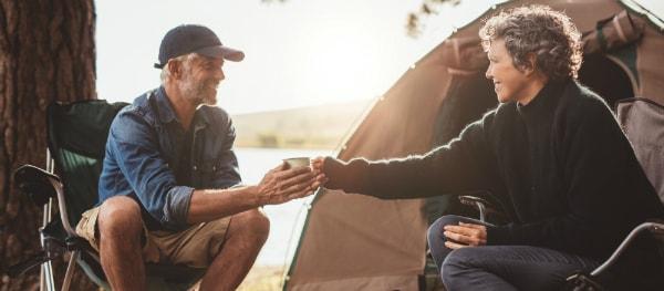 Koffie op de camping
