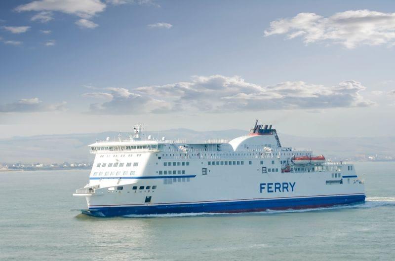 De Ferry naar Engeland