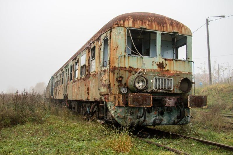 Trein wrak