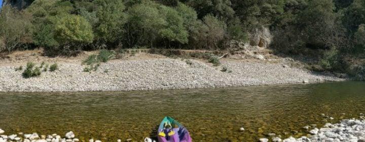 Kanotocht in de Ardèche