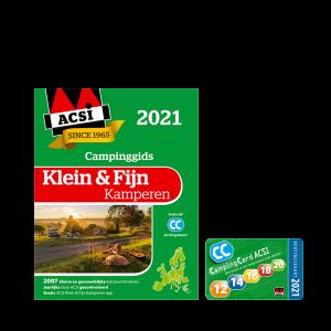 ACSI Klein & Fijn Kamperen en kortingskaart