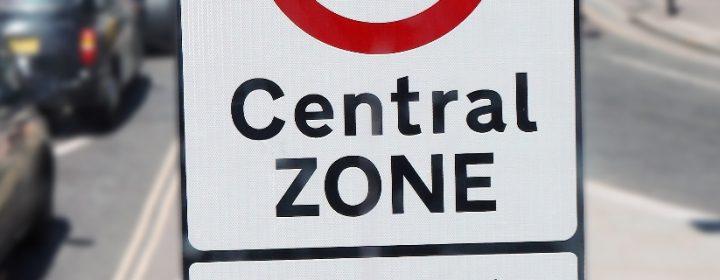 Milieusticker Londen