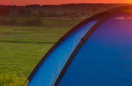 Romantisch kamperen
