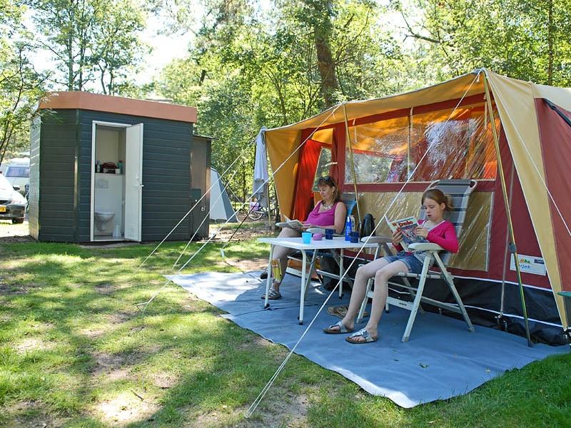 Op Camping De Pampel kun je kamperen met privé-sanitair