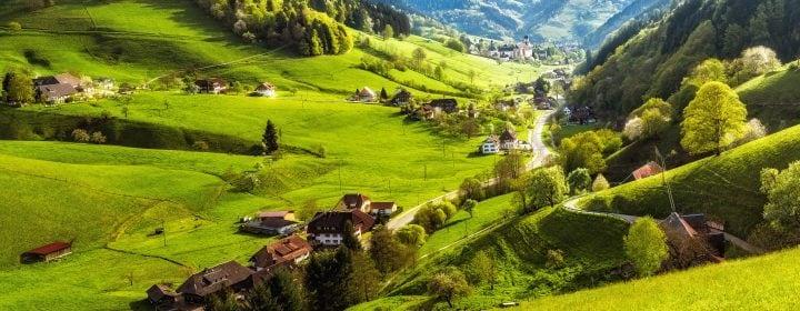 idyllischer Schwarzwald