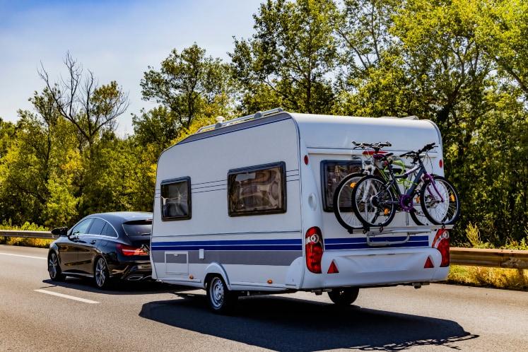 Caravan en trekauto