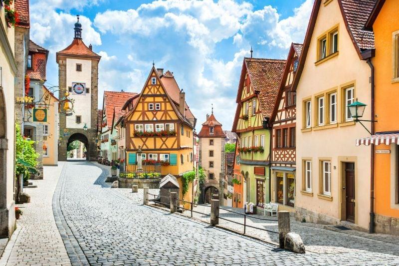 Romantische Straße Rothenburg ob der Tauber
