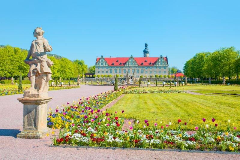 Romantische Straße Schloss Weikersheim