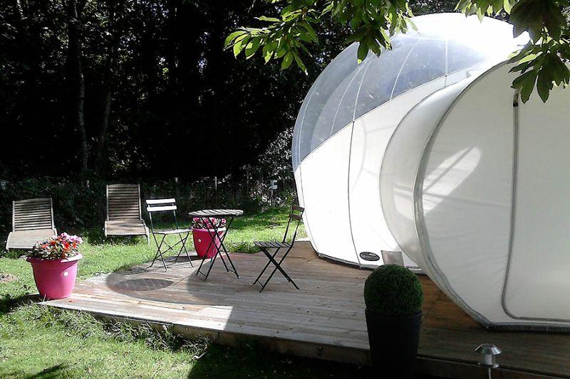 Bubbel Dome Camping des Cerisiers Bretagne