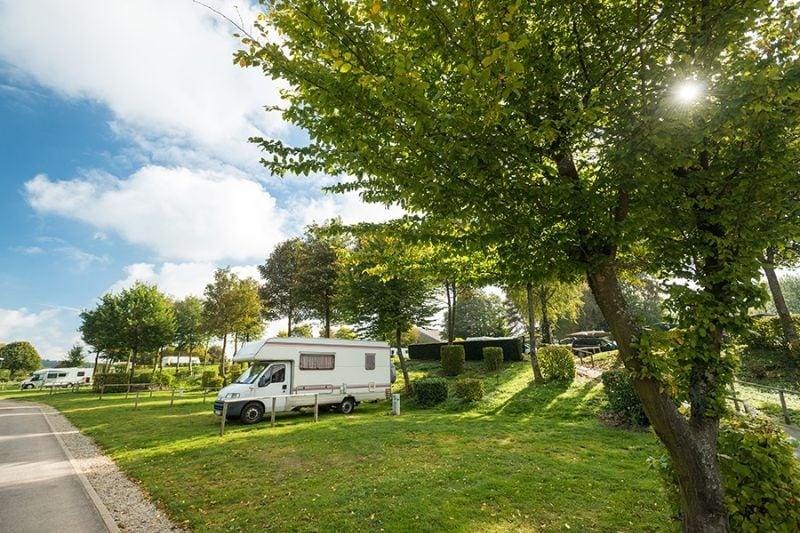 Camping Worriken in de Ardennen