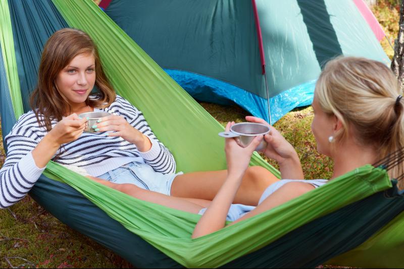 Campinghangmat, koken